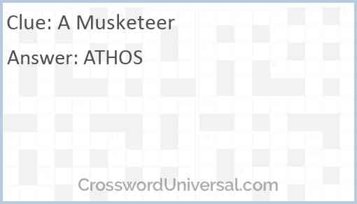 A Musketeer Answer