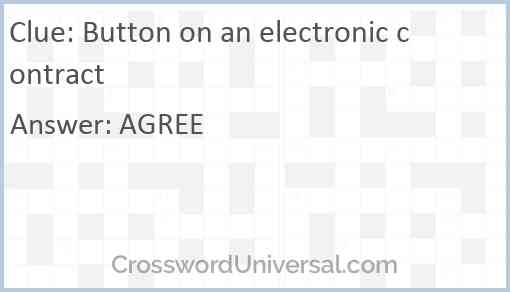 Button on an electronic contract Answer