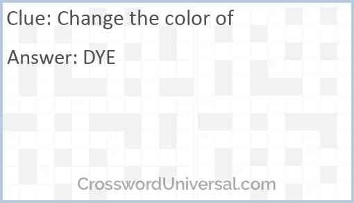 Change the color of Answer