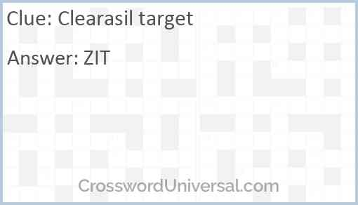 Clearasil target Answer
