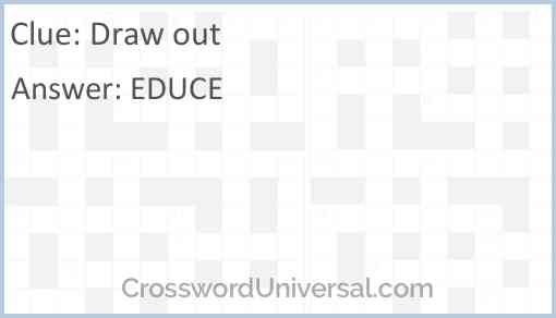 Draw out Answer