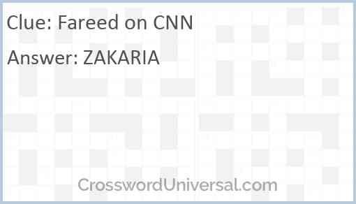 Fareed on CNN Answer