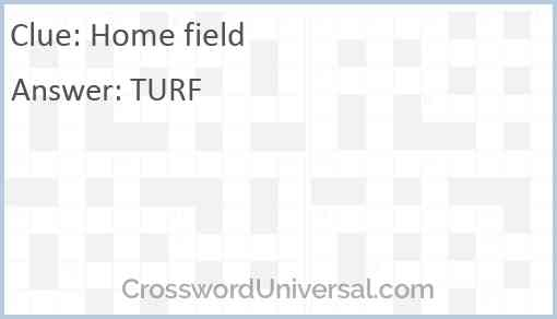 Home field Answer