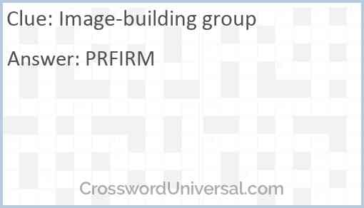 Image-building group Answer