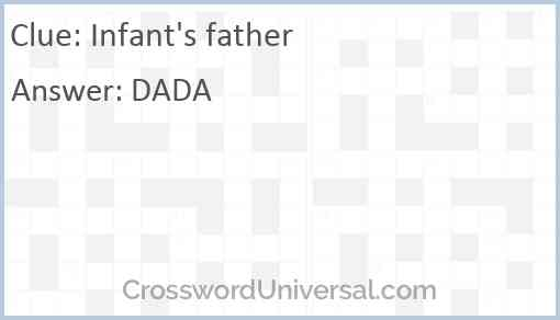 Infant's father Answer