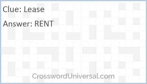 Lease Answer