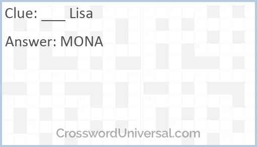 ___ Lisa Answer