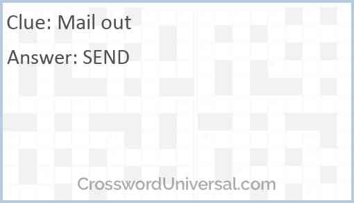 Mail out Answer