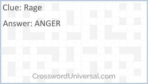 Rage Answer