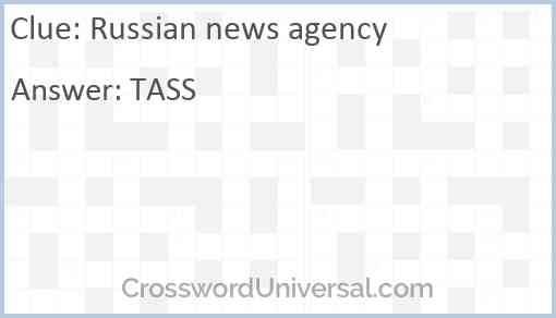 Russian news agency Answer