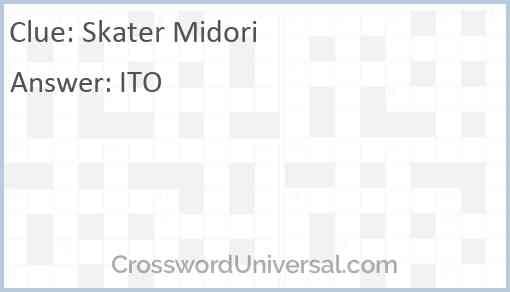 Skater Midori Answer