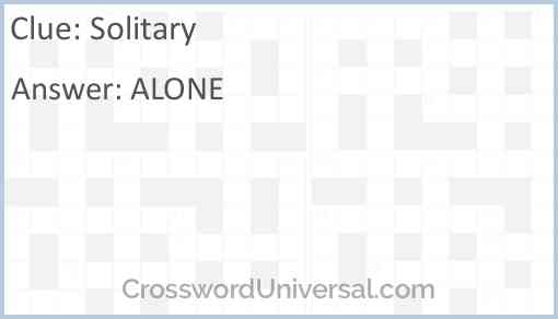 Solitary Answer