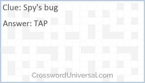 Spy's bug Answer