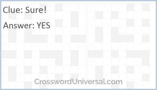 Sure! Answer